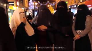 Non-Muslim Women Trying On Hijab And Niqab Hijab | Experiment MUST WATCH !