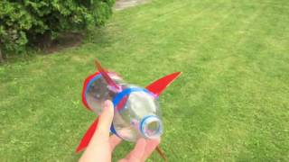 How to Make an Airsoft Rocket Out of Plastic Bottle Water Rocket   Tutorial cut