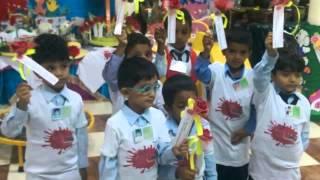 زيارة أطفال روضة الظبية الحكومية لمركز الدفاع المدني..ضمن مشروع من حقي ألعب أتعلم أبتكر ..