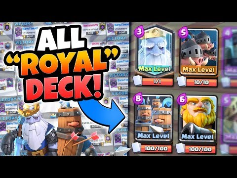 Xxx Mp4 ALL ROYAL CARD DECK CHALLENGE ITS OP Clash Royale NEW ROYAL CARDS NEW META 3gp Sex
