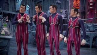 We Are Number One but put through a MP3 to MIDI converter and through FL Keys