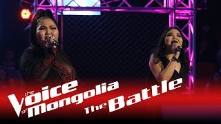 "Maralgoo vs. Zaya  - ""Black Widow"" - The Battle - The Voice of Mongolia 2018"