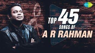 TOP 45 Songs of A.R. Rahman | One Stop Jukebox | S.P.Balasubrahmanyam, Hariharan | Telugu | HD Songs