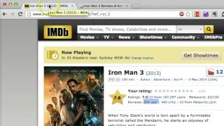 Use IMDb Review to Save Your Time and Money from Bad Movies