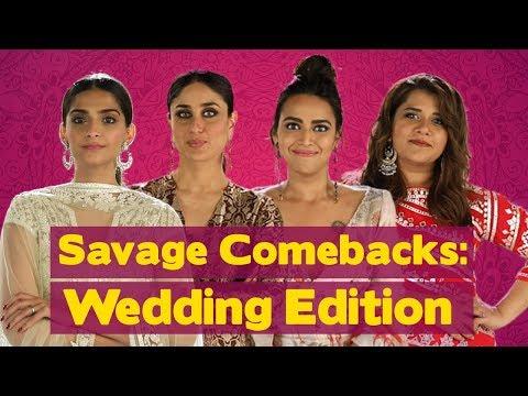 Xxx Mp4 Savage Comebacks To Things You Hear At Weddings Veere Di Wedding MissMalini 3gp Sex