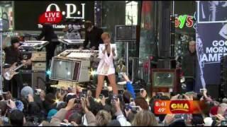 Rihanna - Wait You Turn(Good Morning America 11.24.2009)