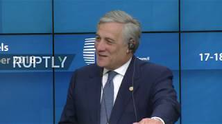 LIVE: Tajani gives opening remarks on first day of European Council