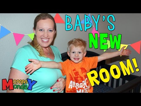 Baby Nursery New Room Reveal Mommy Monday