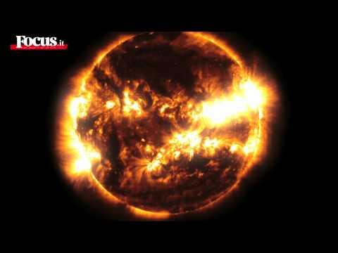 Il Sole come non si è mai visto