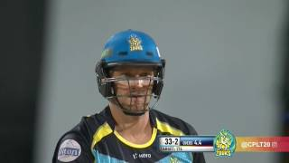 CPL 2016 Highlights - Barbados Tridents v St Lucia Zouks