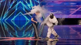 America's Got Talent S09E01 Dustins Dojo Slapstick Karate Comedy Act