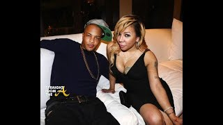 T.I And Tiny Snuggle Up And Kiss In Bed. Are They BACK Together???