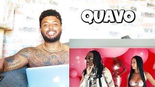 QUAVO - B U B B L E G U M (Official Music Video) | Reaction