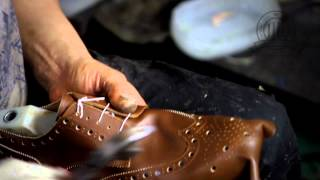 Diamond Walker bespoke shoes - a quick look at our shoemaking process!