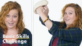 50 People Try to Toss Pizza Dough | Epicurious