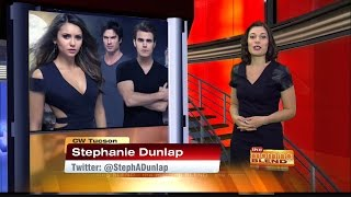 Sizzling Hollywood - News and rumors about The Vampire Diaries