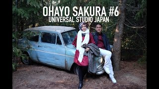 OHAYO SAKURA #6 | UNIVERSAL STUDIO JAPAN | HARRY POTTER