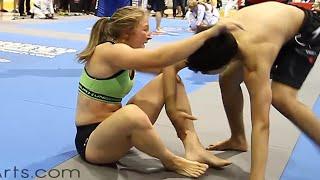 Mixed NoGi Grappling Match at GQ 2012