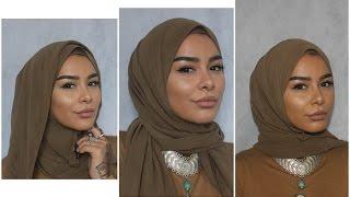 3 Easy Chiffon Hijab Styles
