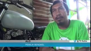 @TVSultra   Modifikasi Motor Retro Ala Bengkel Alo