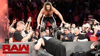 Seth Rollins vs. Kevin Owens - WWE Universal Championship No-DQ Match: Raw, Nov. 21, 2016