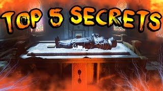 Top 5 SECRETS You Didn't Know About DER EISENDRACHE! Black Ops 3 Zombies TOP 5 BEST EASTER EGGS