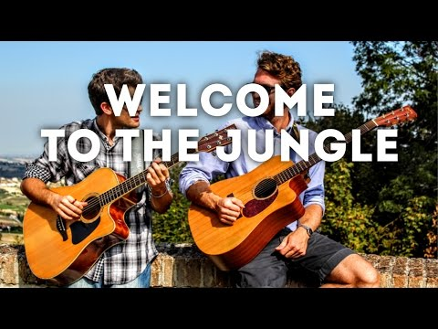 Welcome to the Jungle - Guns N' Roses (INSTRUMENTAL guitar cover)