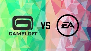 Gameloft vs EA | 5 similar Games