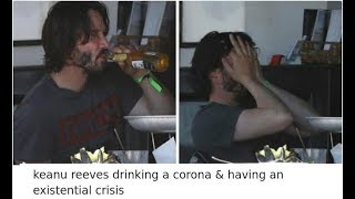 The Internet Can't Stop Laughing At Keanu Reeves Doing Things