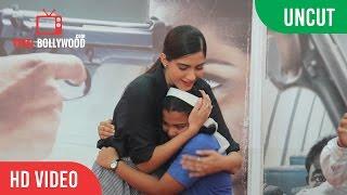 UNCUT - Neerja Bhanot's Plaque Inaugurating | Sonam Kapoor | Viralbollywood