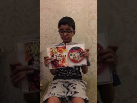 unboxing of dragonball xenoverse