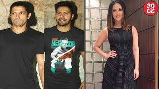 Varun Dhawan Says No For A Film With Farhan   Sunny Leone To Have A Dance Song In 'Bhoomi'