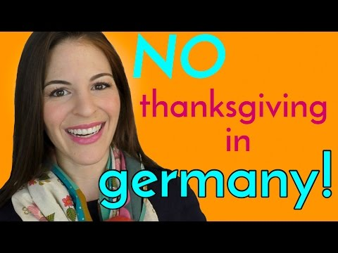 Why I DON'T CELEBRATE THANKSGIVING in Germany