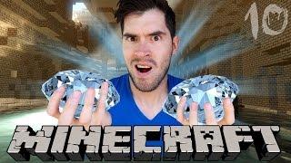 MI PRIMER DIAMANTE | Minecraft | Parte 10 - JuegaGerman