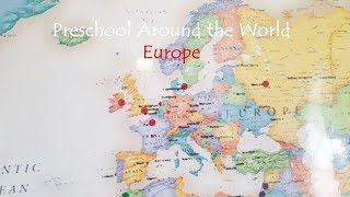 Preschool Homeschool Geography: Europe