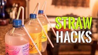 6 Awesome Straw Hacks