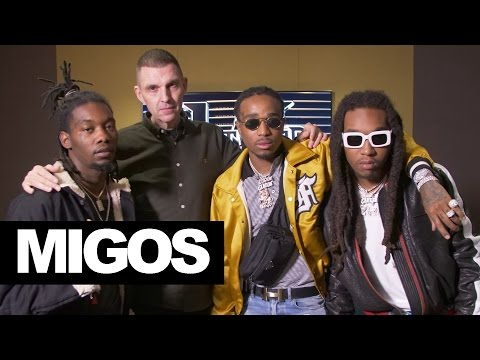 Migos in London talking new releases, Cardi B & Offset & Jewellery