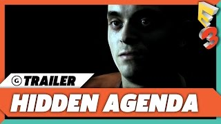 Hidden Agenda First Trailer Revealed at E3 2017   Sony Press Conference