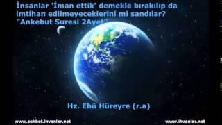 Hz Ebû Hüreyre (r.a)