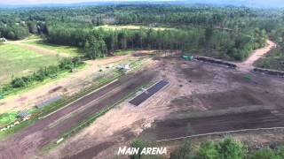 Aerial Introduction to 4x4 Proving Grounds.com Lebanon Maine