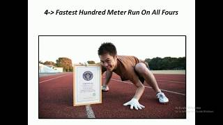 Top 10 Craziest World Records  Guinness Records