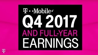 T-Mobile Q4 and Full Year 2017 Earnings Call: Behind-the-Scenes Livestream