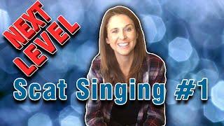 Scat Singing (Jazz Tutorial) For INTERMEDIATE Jazzers (Part 1)