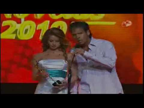 Sebastian Zurita Mejor Revelacion Masculina TVyNovelas 2010