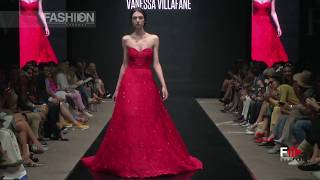 VANESSA VILLAFANE Spring Summer 2019 Montecarlo MCFW - Fashion Channel