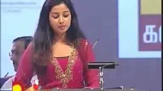shreya ghoshal super  live performance in ilayaraja's presence