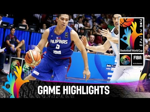 watch Argentina v Philippines - Game Highlights - Group B - 2014 FIBA Basketball World Cup