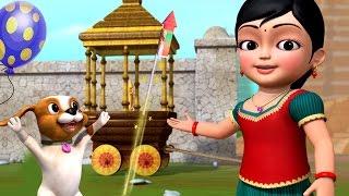 திருவிழா பார்க்கலாம் | Tamil Rhymes for Children | Infobells