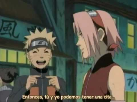 Narusaku largo beso de despedida long kiss goodbye