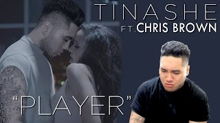 Tinashe Feat. Chris Brown - Player REACTION!!!